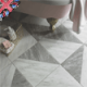 British bathroom floor tiles from big to small sizes