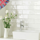 British bathroom wall tiles from big to small sizes