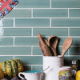 Kitchen wall tiles made in UK |British kitchen wall tiles