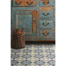 Bolero Blue Light Blue, Dark Blue, Denim tile 8711 Odyssey Grande Original Style