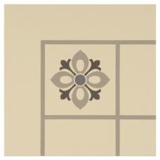 Bohemia Corner Light Blue, Light Grey and Dark Grey on White tile 8001V Odyssey Primo Original Style