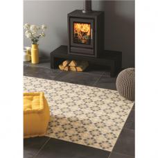 Bolero Grey Light Grey, Dark Grey, Summer Yellow tile 8712 Odyssey Grande Original Style