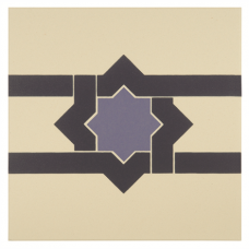Iberian Border Indigo and Dark Blue on White tile 8100V Odyssey Primo Original Style