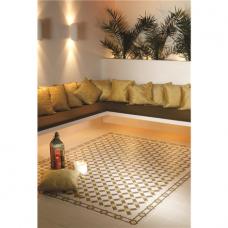 Alhambra Summer Yellow and Regency Bath on White tile 8111V Odyssey Primo Original Style