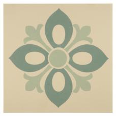 Aragon Drop In Light Jade and Dark Jade on White tile 8050V Odyssey Primo Original Style